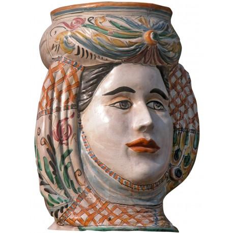 Big terracotta cachepot