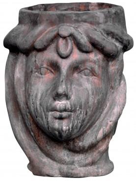 Little cachepot in terracotta