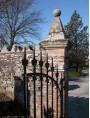 Cancello in ferro battuto toscano italiano - San Leonardo in Treponzio