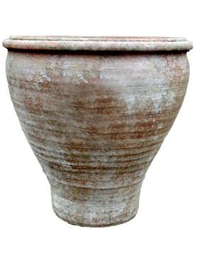 Flower vase hand made on a lathe