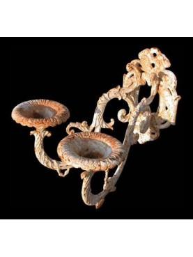 Cast iron candelabrum