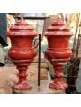 Vasi torniti in Diaspro dei Carpazi - rarissima pietra introvabile