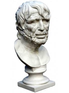 Testa / Busto in gesso di Seneca