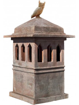 Copy of tuscan chimney pot int.36x36cms