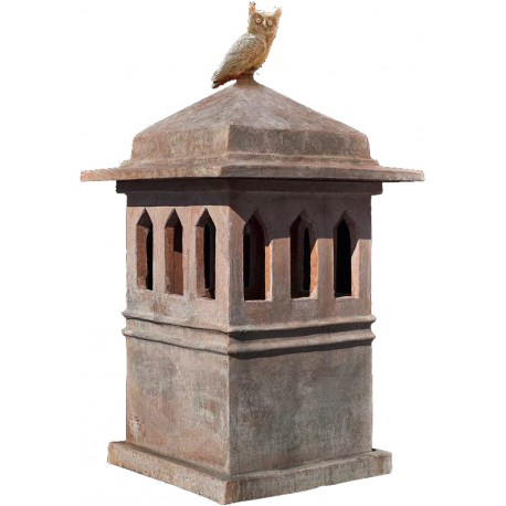 Copy of tuscan chimney pot int.36x36cms
