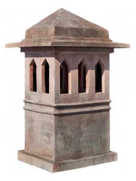 Large Tuscan chimney pot int.36x25cms