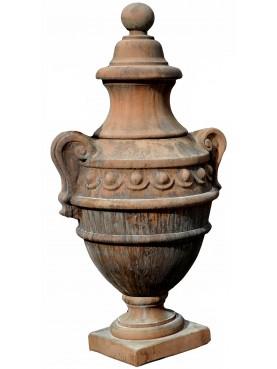 Vaso ornamentale toscano di foggia rinascimentale