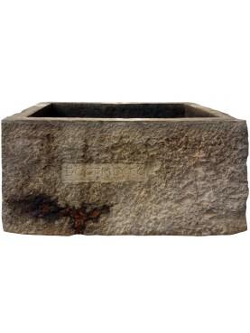 Grande contenitore in pietra serena