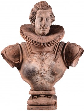 Bust of Cosimo II de' Medici in terracotta