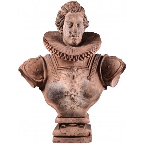 Bust of Cosimo II de' Medici in terracotta
