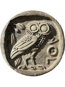 ATHENS stone roundel TETRADRAMMA 510 B.C. OWL