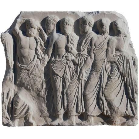 MAGISTRATI - Cella del Partenone metopa gesso Atene