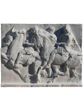 Athens Partenone's Metope plaster cast from Athens