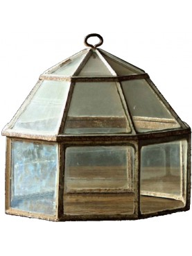 Octagonal Handlights Cloche for vegetables