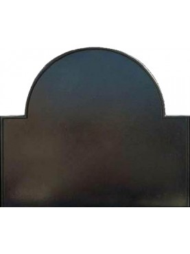 Fireback simple - cast-iron