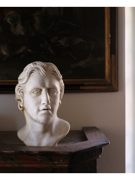 Our Alexander the Great Paros marble head