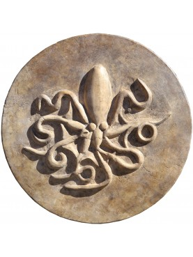Tondo del Polipo - copia di una moneta della Magna Grecia