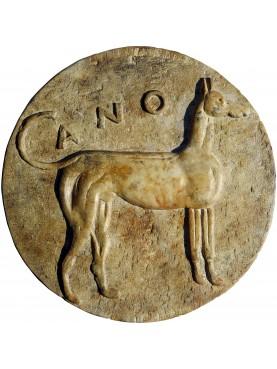 Tondo del LEVRIERO siculo - copia di una moneta Palermitana 415-410 a.C.