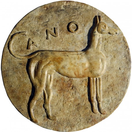 Hound from Sicily - Panormos Palermo 415-410 b.C.