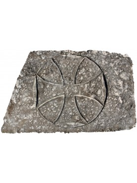 Stone Templar Cross trapezoidal