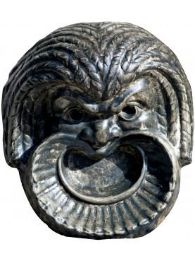 Maschera in gesso patinato - satira del Teatro Greco