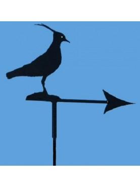 PAVONCELLA segnavento con freccia - ferro battuto