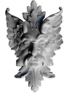 Satyr plaster cast mask