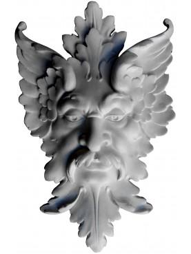 Maschera di Satiro in gesso