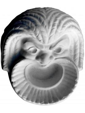 plaster cast greek mask