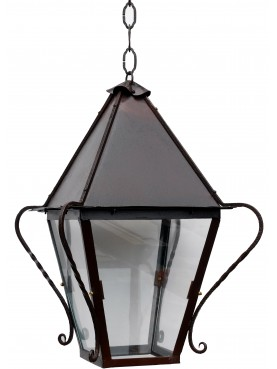 Italian forged iron lantern