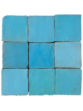 Hand-made Morocco Tile turquese
