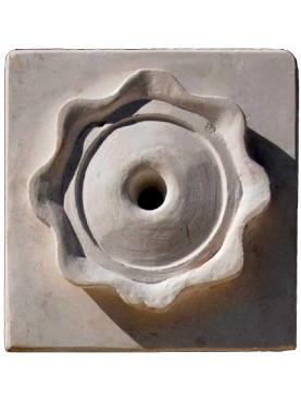 Boccha in pietra di fontana - rosone