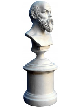 Socrates Greek philosopher- small plastercast bust