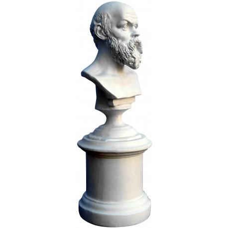 Socrates Greek philosopher- small plastercast bust