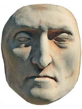 Maschera mortuaria di Dante Alighieri in terracotta