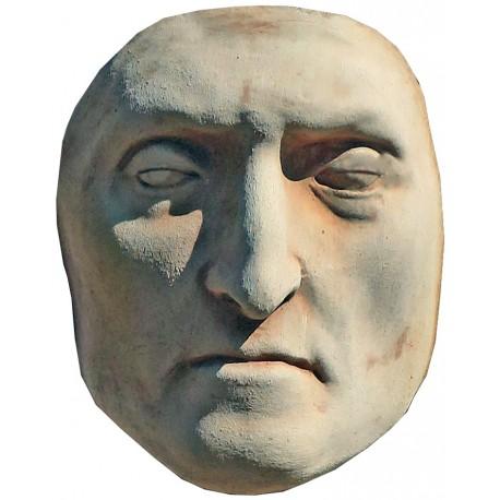 Dante Alighieri mortar mask in terracotta