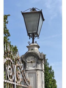 Lanterna Vicentina in ferro battuto da cancello