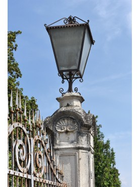 Vicenza wrought iron gate lantern