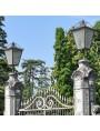 Cancello in ferro battuto di 360cm. italiano