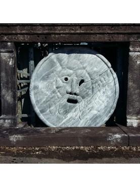 Bocca della Verità in Bardiglio marble our reproduction