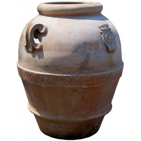 Tusca jar Impruneta clay