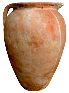 "Ancient Olive oil Jare H.75cms ""Woodcock jar"""