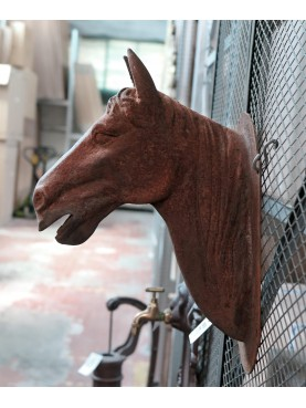 Testa di Cavallo in ghisa piccola
