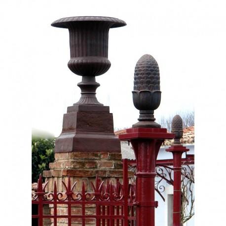 Cast Iron Medici vase