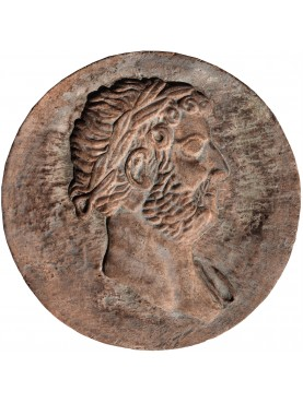Adrian terracotta roundel roman empire