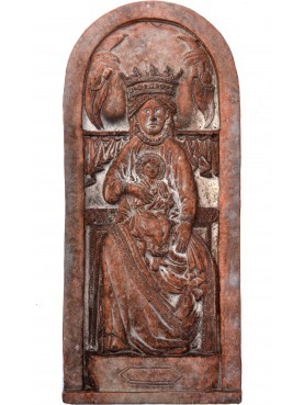 Madonna dell'Impruneta col Bambino in terracotta