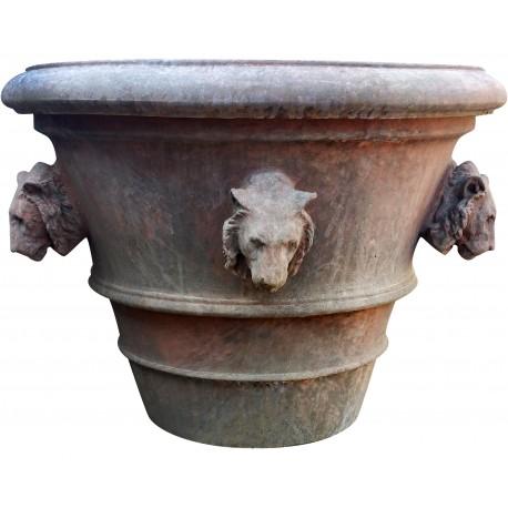 Vaso da Limoni Ø 82 cm con teste di leone