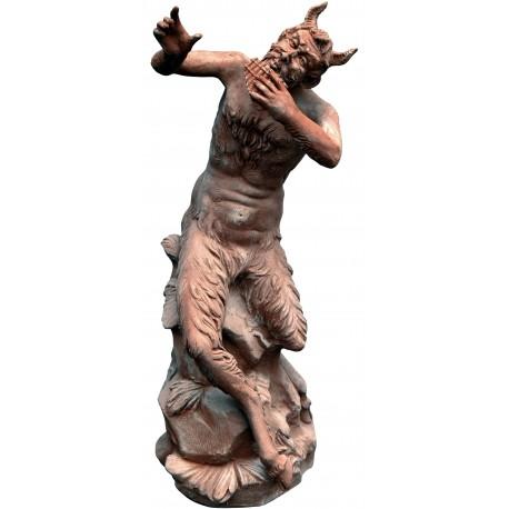 Pan Fauno - terracotta patinata
