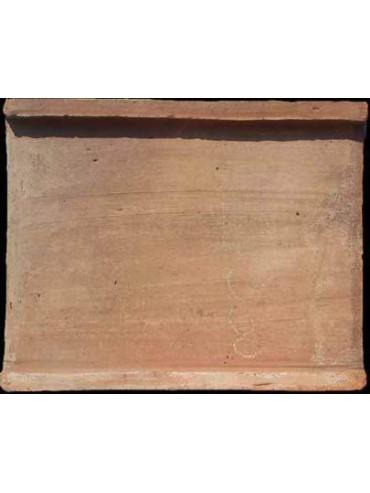 Terracotta ridge tile