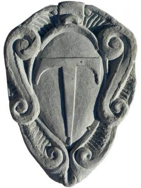 stemma in pietra Cavalieri del Tau